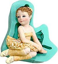 hfior Stampo per torta, Ballerina Girl Liquido