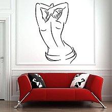 HGFDHG Adesivi murali Salone Spa Donna Corpo