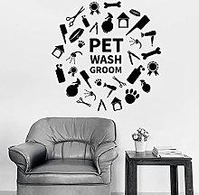 HGFDHG Pet Shampoo Toelettatura Decalcomania da