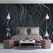 HGFHGD 3D soggiorno murale astratto linee