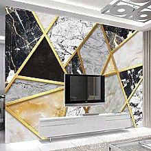 HGFHGD 3D soggiorno murale marmo motivo geometrico