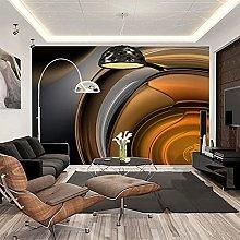 HGFHGD 3D soggiorno murale retro metallo lustro TV