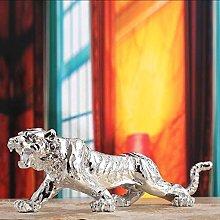 HGNMK Figurina Animale Statua Ornamenti Tigre