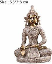 HGNMK Ornamenti Statue Sculture Figurine di Buddha