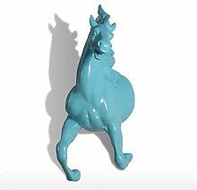 HGNMK Statue Sculture Resina Statua di Cavallo