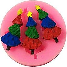 HHuin Stampo per torta di Natale in silicone 3D