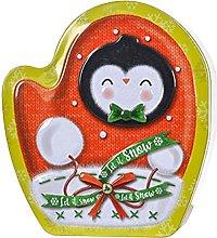 Hidyliu, barattoli di latta di Natale, scatola di
