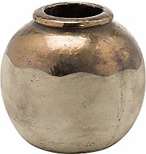 Hill 1975 Evi Vaso Bombom Bronzo Antico Ceramica,
