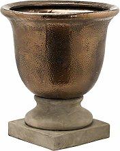 Hill 1975 Evi-Vaso in Bronzo Antico con urna