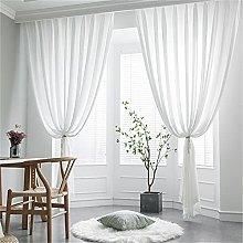 Hilo De Cortina Blanco Europeo Simple Luz De Lujo