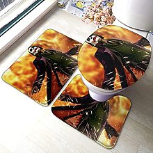 Hirola Heath Ledger - Set di 3 tappetini da bagno