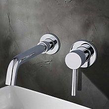 Hiwenr Nuovo Rubinetto per lavabo in Ottone