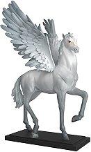 HJKIUY Scultura Statua Cavallo Decorazione Moderna