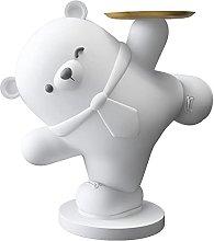 HJKIUY Statua Creativa Orso Polare Scultura