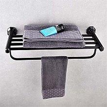 HLY Gancio per asciugamani, bagno in rame fine Set
