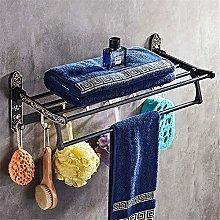 HLY Gancio per asciugamani, spazio per il bagno