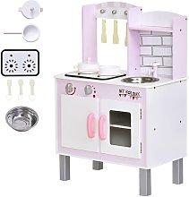 HMC - Cucina Giocattolo Per Bambini 55x30x80 Cm In