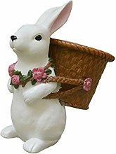 Holibanna 1Pc Creativo Bunny Vaso di Fiori A Forma