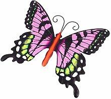 Holibanna Farfalla in Metallo Decorazione della
