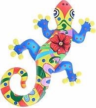 Holibanna Gecko del Metallo della Decorazione
