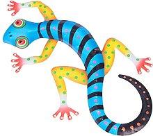 Holibanna Gecko del Metallo di Arte della Parete