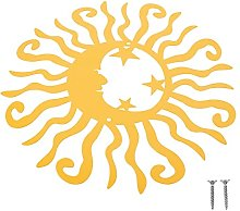 Holibanna Occhiali da Sole in Metallo di Arte