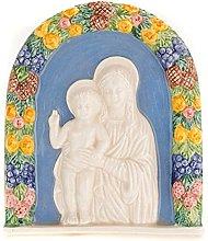 Holyart Bassorilievo Ceramica Madonna con Bambino