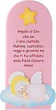 Holyart Pala bassorilievo Angelo di Dio su Nuvola,