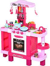 Homcom Cucina Giocattolo per Bambini con 38
