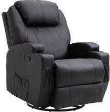 HOMCOM Poltrona Relax Massaggiante con 8 Punti, 5