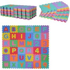 HomCom Tappeto Puzzle Gioco Bambini 36 Pezzi - 26