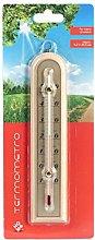 Home 9718111 Termometro Interno/Esterno, Legno