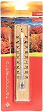 Home 9718311 Termometro Interno/Esterno, Legno
