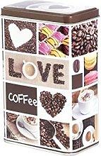 Home Coffee Barattolo Rettangolare, Decoro Caffee,