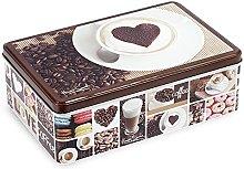 Home Coffee Scatola Rettangolare, 20x13x6 cm,