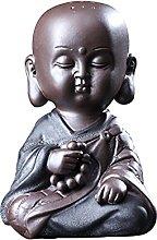 Home Decor Statuetta Ornamenti Scultura Zen Tea