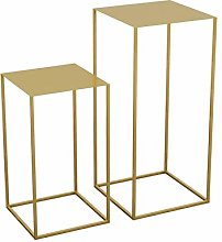 Home-table Tavoli Ad Incastro, Iron Art Tavolino