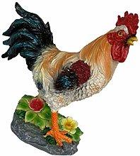HomeDecTime Statua di Gallo Creativo, Scultura di