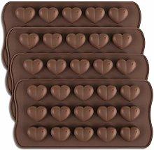 homEdge - Stampo per cioccolatini a forma di cuore