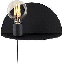 Homemania - Lampada a Parete Shelfie - Applique -