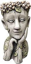 HOMHH Vasi per Fioriere con Statua, Vaso per Fiori