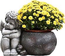 HOMHH Vaso da Fiori Vintage Angelo Vaso per