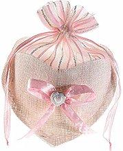 Homiwise 24 Sacchetti Bomboniere Confetti in