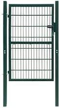 Hommoo Cancello Staccionata 2D (Singolo) Verde 106