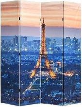 Hommoo Paravento Pieghevole 160x170 cm Stampa