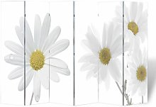 Hommoo Paravento Pieghevole 240x170 cm con Stampa