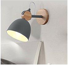 HORKEY E27 - Lampada da parete a LED, per interni