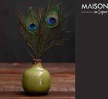 Houlle Piccolo vaso di ceramica verde