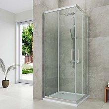 House box doccia 80 x 80 cm angolo con ante