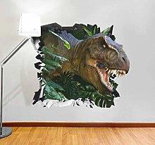 HQQPA Adesivo Effetto 3D Adesivo murale dinosauro